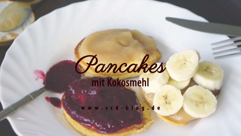 Pancakes mit Kokosmehl