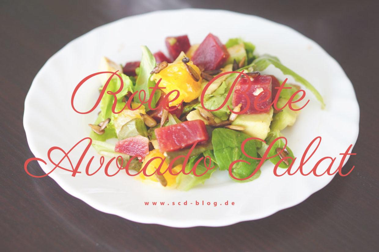 Rote Bete Avocado Salat